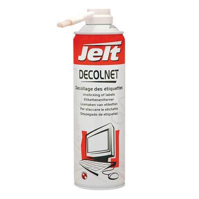 aerosol solvant jelt 650ml pour d coller des etiquettes esistore. Black Bedroom Furniture Sets. Home Design Ideas