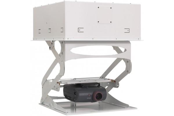 Support plafond motorise pour videoprojecteur esistore - Support videoprojecteur plafond encastrable ...